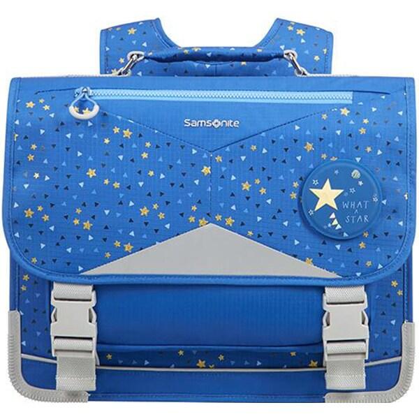 Ghiozdan SAMSONITE Sam Ergofit Stardust L, albastru