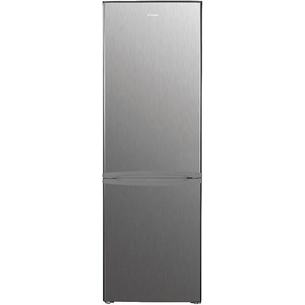 Combina frigorifica CANDY CHICS 5184XN, 262 l, H 180 cm, Clasa E, inox