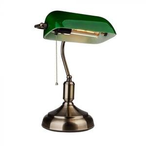 Lampa birou V-TAC 3912, E27, verde