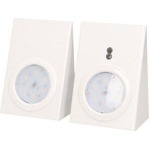 Set 2 corpuri iluminat mobilier ORNO OR-AE-13108, 2.5W, 180 lumeni, senzor miscare, alb