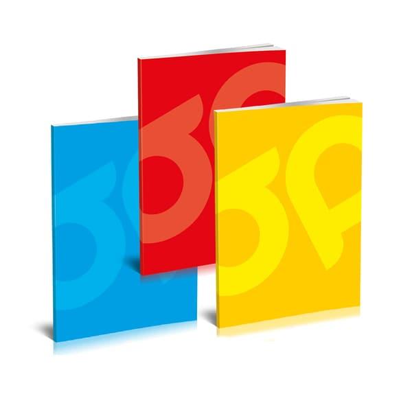 Set 10 caiete pentru scoala ASTRA POLONIA Premium, dictando, A5, 80 file, legatura capsata, diverse modele
