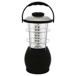 Lampa cu LED-uri HOME CL 36L, 36 LED-uri, acumulator, negru