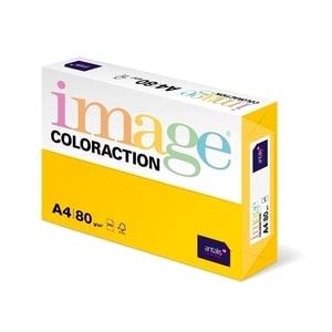 Hartie color pentru copiator COLORACTION, A4, 500 coli, galben intens-Sevilla