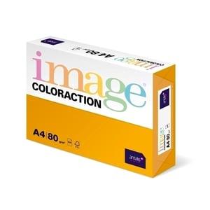 Hartie color pentru copiator COLORACTION, A4, 500 coli, portocaliu