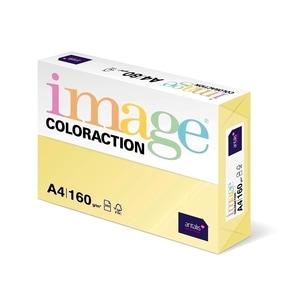 Carton color COLORACTION, A4, 250 coli, galben pal-desert