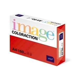 Carton color COLORACTION, A4, 250 coli, rosu-Chile