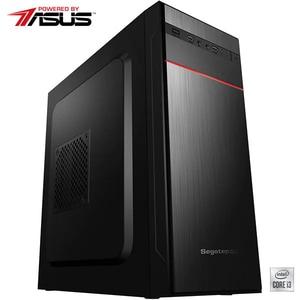 Sistem Desktop PC MYRIA Live V60WIN Powered by Asus, Intel Core i3-10100 pana la 4.3GHz, 8GB, SSD 240GB, Intel UHD Graphics 630, Windows 10 Home