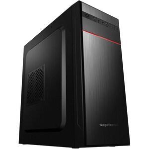 Sistem Desktop PC MYRIA Live V58, Intel Core i3-9100F pana la 4.2GHz, 8GB, SSD 240GB, NVIDIA GeForce GT 710 2GB, Ubuntu