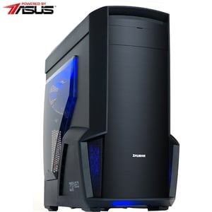 Sistem Desktop Gaming MYRIA Style V58 Powered by Asus, AMD Ryzen 7-3700X pana la 4.4GHz, 16GB, SSD 480GB, NVIDIA GeForce GTX 1660 6GB, Ubuntu