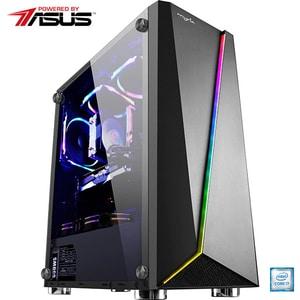 Sistem Desktop Gaming MYRIA Vision V32 Powered by Asus, Intel Core i7-9700K pana la 4.9GHz, 32GB, SSD 480GB, NVIDIA GeForce RTX 2060 Ssuper 8GB, Ubuntu