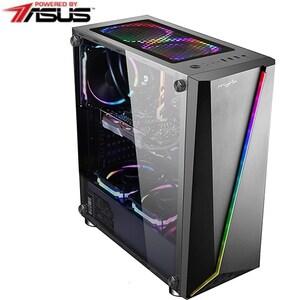 Sistem Desktop PC MYRIA Vision 34, Intel Core i5-9600KF pana la 4.6GHz, 16GB, SSD 240GB, NVIDIA GeForce GTX 1660 Super 6GB, Ubuntu