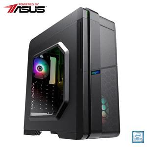 Sistem Desktop Gaming MYRIA Vision 35 Powered by Asus, Intel Core i7-9700F pana la 4.7GHz, 32GB, SSD 480GB, NVIDIA GeForce RTX 2060 6GB, Ubuntu