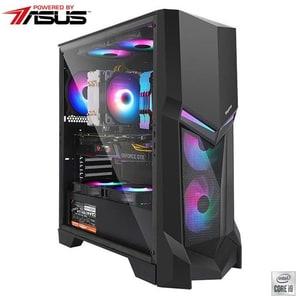 Sistem Desktop PC MYRIA Vision 47W Powered by ASUS, Intel Core i9-10850K pana la 5.2GHz, 32GB, HDD 1TB + SSD 480GB, NVIDIA GeForce RTX 3070 8GB, Windows 10 Home