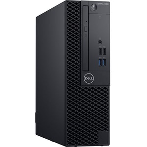 Sistem Desktop PC DELL OptiPlex 3060 SFF, Intel Core i5-8500 pana la 4.1GHz, 8GB, SSD 256GB, Intel UHD Graphics 630, Ubuntu