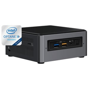 Sistem Desktop PC INTEL NUC7I3BNH, Intel Core i3-7100U 2.4GHz, 4GB, 1TB, Intel HD Graphics 620, Free Dos