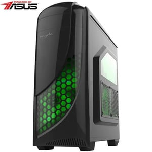 Sistem Desktop PC MYRIA Style V55WIN, AMD Ryzen 5-3400G pana la 4.2GHz, 8GB, SSD 240GB, AMD Radeon RX Vega 11 Graphics, Windows 10 Home