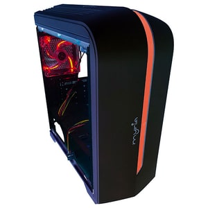 Sistem Desktop PC MYRIA Style V57WIN, AMD Ryzen 3-3200G pana la 4GHz, 8GB, 1TB, AMD Radeon Vega 8 Graphics, Windows 10 Home