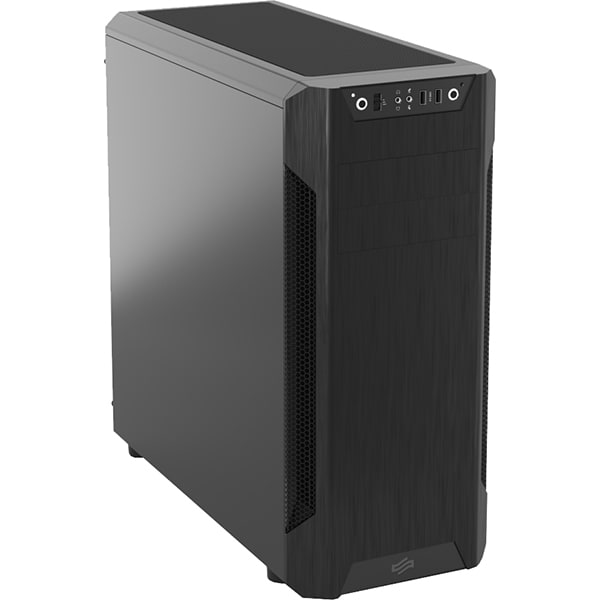 Sistem Desktop PC MYRIA Fortuna, AMD Ryzen 5 2600 pana la 3.9GHz, 8GB, SSD 240GB, NVIDIA GTX 1650 4GB + GT710 2GB, Windows 10 Pro