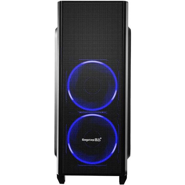 Sistem Desktop Gaming MYRIA Style V52 Powered by Asus, AMD RYZEN 5 2400Gpana la 3.9GHz, 8GB, 1TB + SSD 120GB, NVIDIA GeForce GTX 1060 6GB, Ubuntu