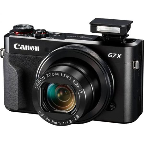 Aparat foto digital CANON PowerShot G7X MARK II, 20.9 MP, Full HD, Wi-Fi, negru