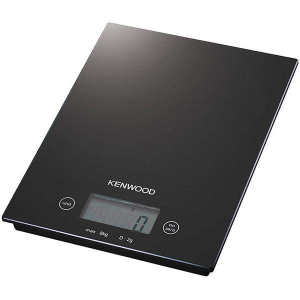 Cantar de bucatarie KENWOOD DS400, 8kg, negru