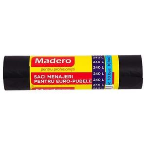 Saci menajeri MADERO 012834D, 10 bucati, 240 l, negru