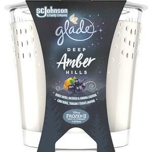Lumanare parfumata GLADE Deep Amber, 129gr