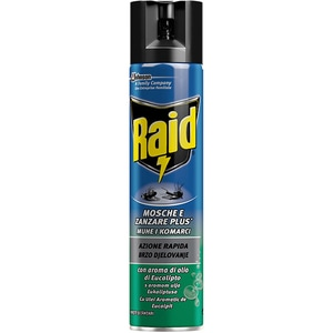 Spray anti-muste si tantari RAID Eucalipt, 400ml