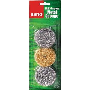 Burete de vase SANO Sushi, inox, 3 bucati