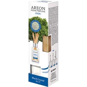 Odorizant cu betisoare AREON Home Perfume Black Crystal, 85ml