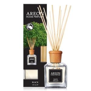 Odorizant cu betisoare AREON Home Perfume Black, 150ml