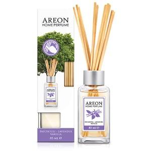 Odorizant cu betisoare AREON Home Perfume Patchouli Lavander Vanilla, 85ml