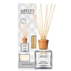 Odorizant cu betisoare AREON Home Perfume Silver Linen, 150ml