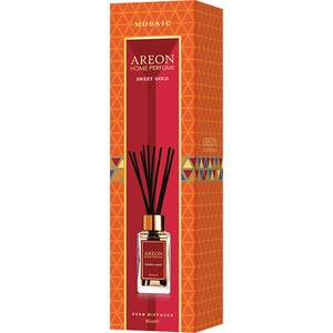 Odorizant cu betisoare AREON Home Perfume Sweet Gold, 85ml