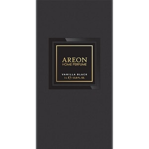 Odorizant cu betisoare AREON Home Perfume Vanilla Black, 1000ml