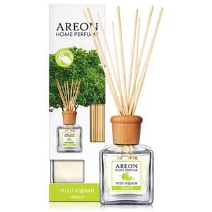 Odorizant cu betisoare AREON Home Perfume Yuzu Squash, 150ml
