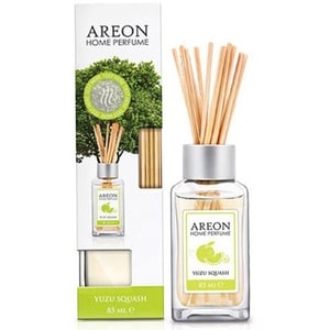 Odorizant cu betisoare AREON Home Perfume Yuzu Squash, 85ml