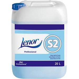 Balsam de rufe super-concentrat LENOR Professional Extra Soft & Fresh S2, 20 l