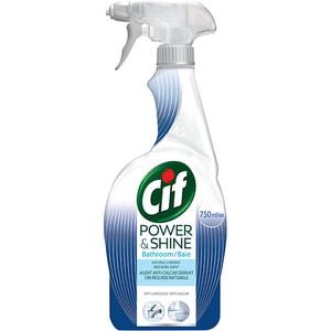 Solutie de curatare baie CIF Power & Shine Spray Anticalcar, 750 ml