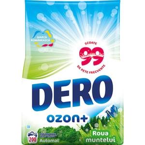 Detergent automat DERO Ozon Roua Muntelui, 20kg, 200 spalari