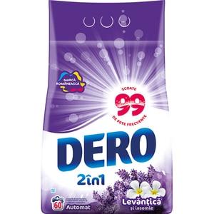 Detergent automat DERO 2 in 1 Lavanda, 6 kg, 60 spalari