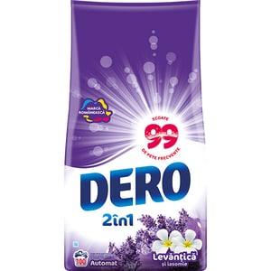 Detergent automat 2in1 DERO Lavanda, 10kg, 100 spalari