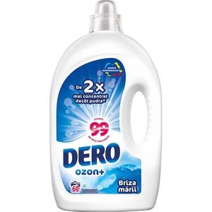 Detergent lichid DERO Ozon+ Briza marii, 3 l, 60 spalari