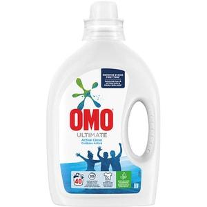 Detergent lichid OMO Ultimate Active Clean, 2l, 40 spalari
