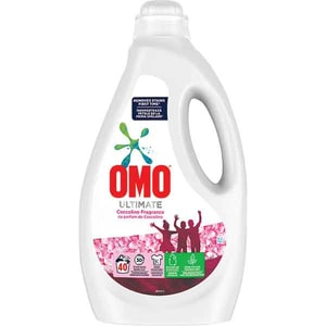 Detergent lichid OMO Ultimate Coccolino, 2l, 40 spalari