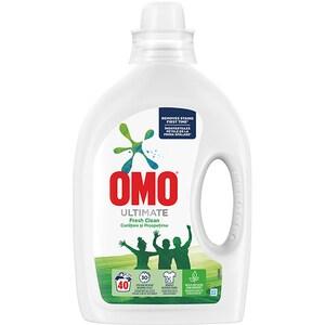 Detergent lichid OMO Ultimate Fresh Clean, 2l, 40 spalari