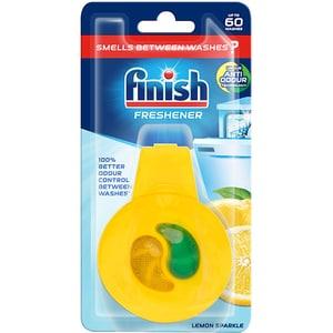 Odorizant pentru masina de spalat vase FINISH Deo Lemon & Lime, 60 spalari