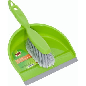 Set faras + perie SCOTCH-BRITE MMFA0400, verde