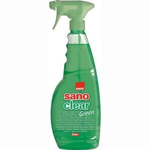 Solutie de curatat geamuri SANO Clear Green, 1 l