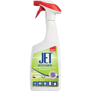 Solutie de curatare pentru suprafete bucatarie SANO Jet, 750 ml